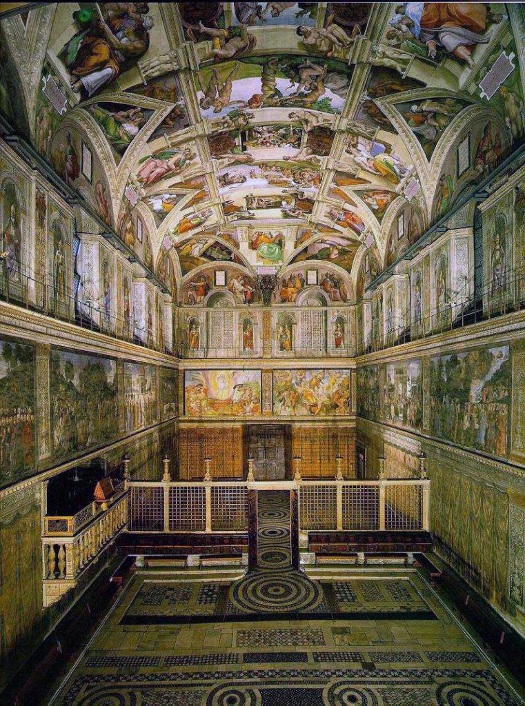 Musei online - Cappella Sistina, interno, Musei Vaticani