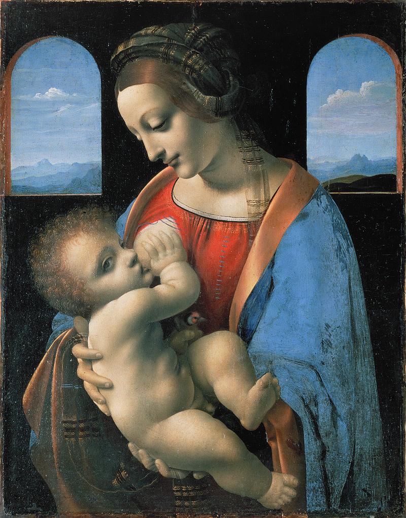 Musei online - Madonna Litta, Leonardo Da Vinci (attribuito), 1490 (Hermitage Museum, San Pietroburgo)