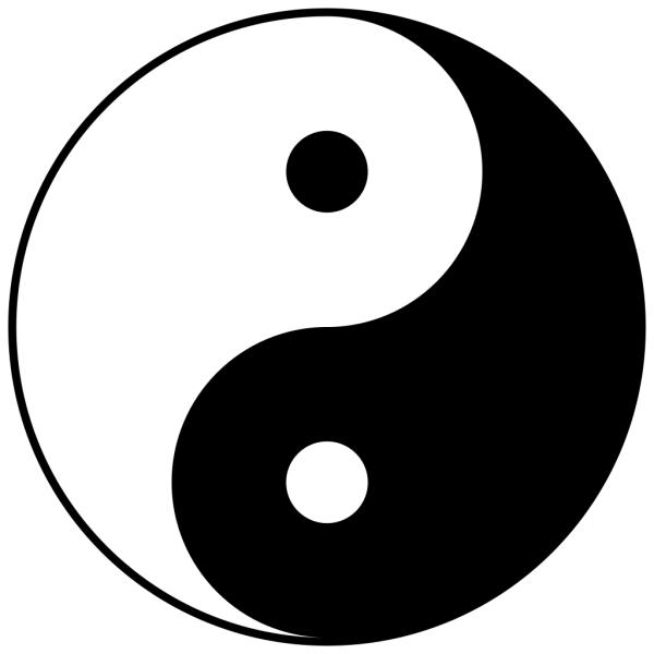 Simbolo di yin e yang