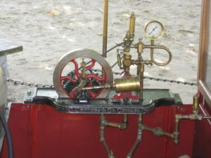 motore a vapore popcorn