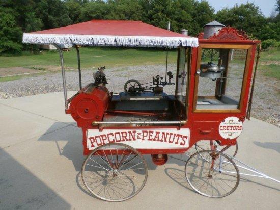 popcorn old machine