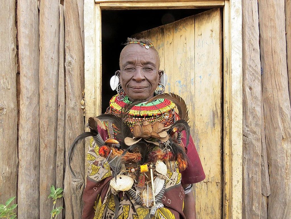 Guaritore del Kenia