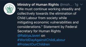 Zohra Saha - Ministero diritti umani