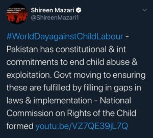 Zohra Shah - Shireen Mazari