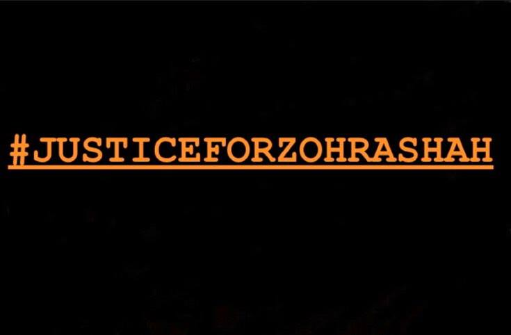 Justice for Zohra Shah