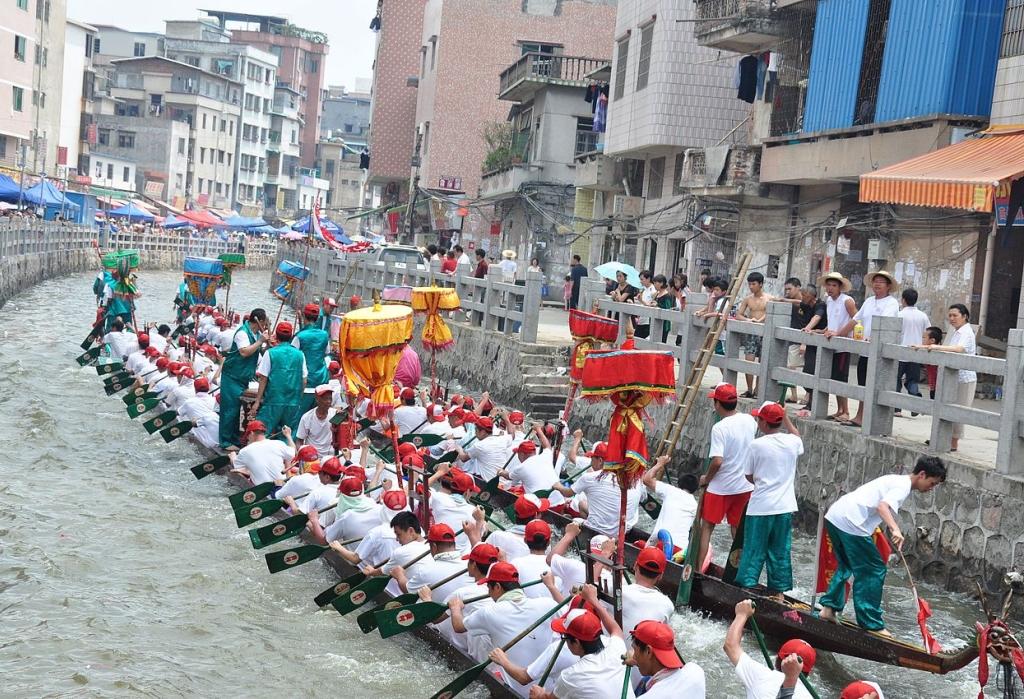 Festa delle barche drago (端午节)