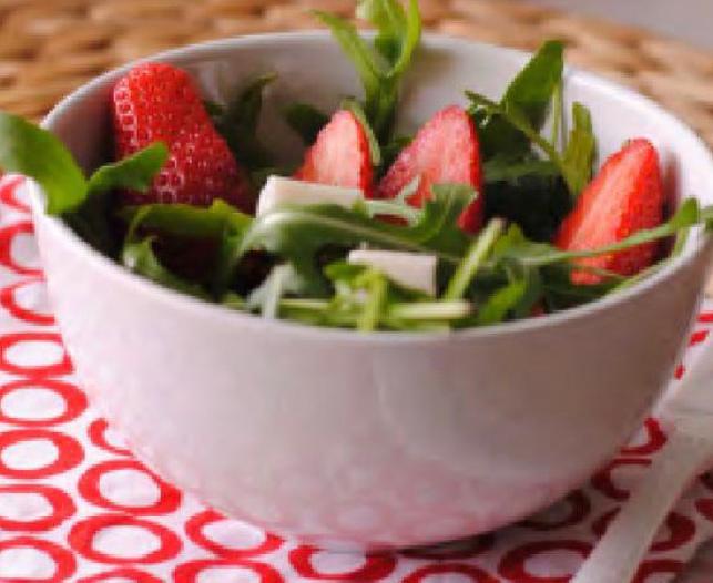 Ricette estive - Insalata di fragole