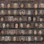 Il volto degli imperatori romani secondo Voshart