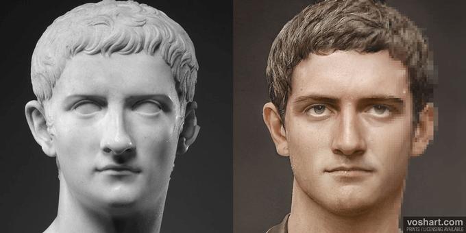 """ALT=""""imperatori di Roma Caligola"""""""