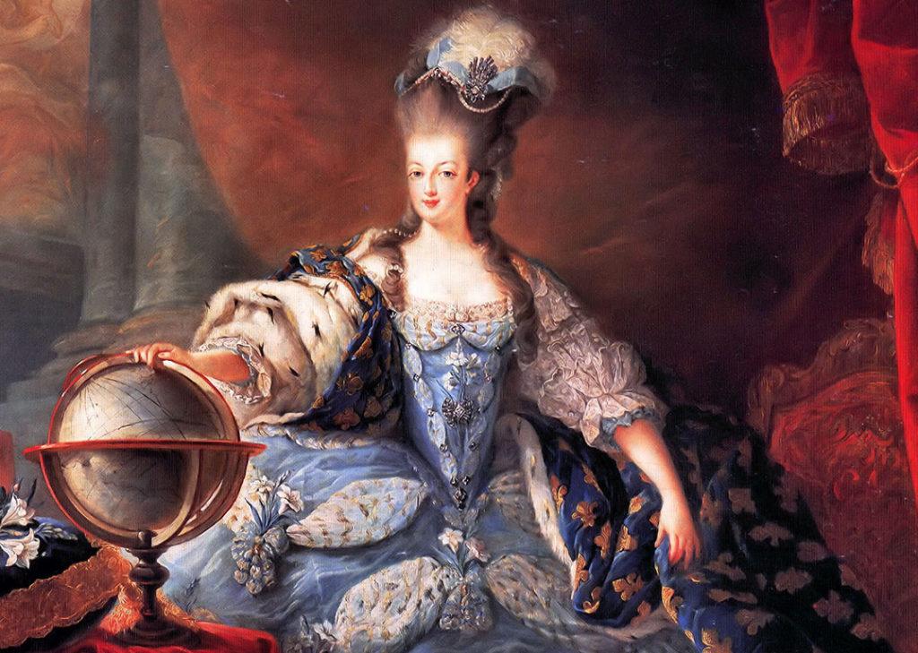 Bellezza e cosmesi nel Settecento - MAria Antonietta d'Asburgo-Lorena