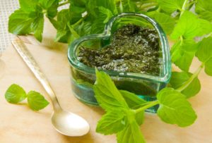 Salse estive: salsa alla menta