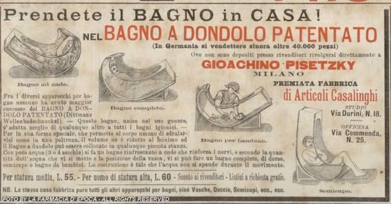 Bagno a dondolo - Ottocento
