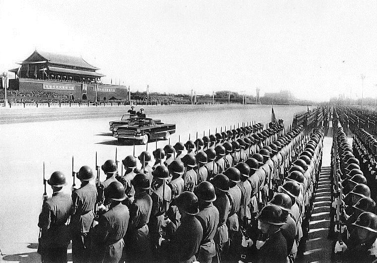 Parata militare alla festa nazionale cinese del 1959