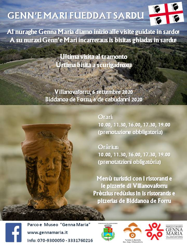 Parco Museo Genna Maria - Genn'e Mari fueddat sardu