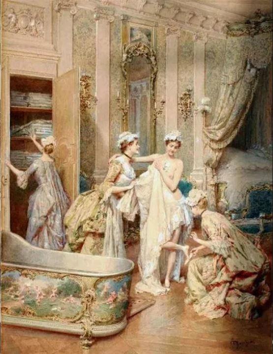 Storia della sala da bagno