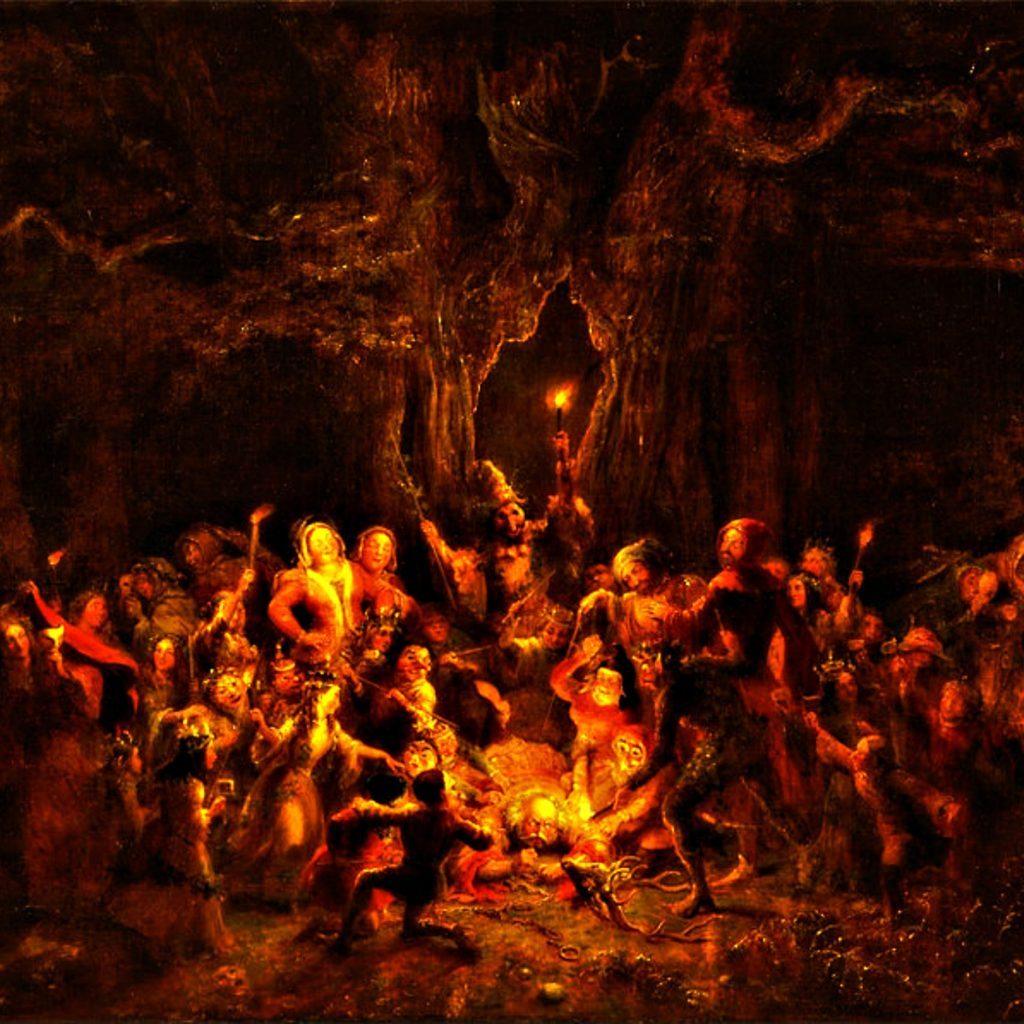 Samhain - Halloween - Notte delle Streghe