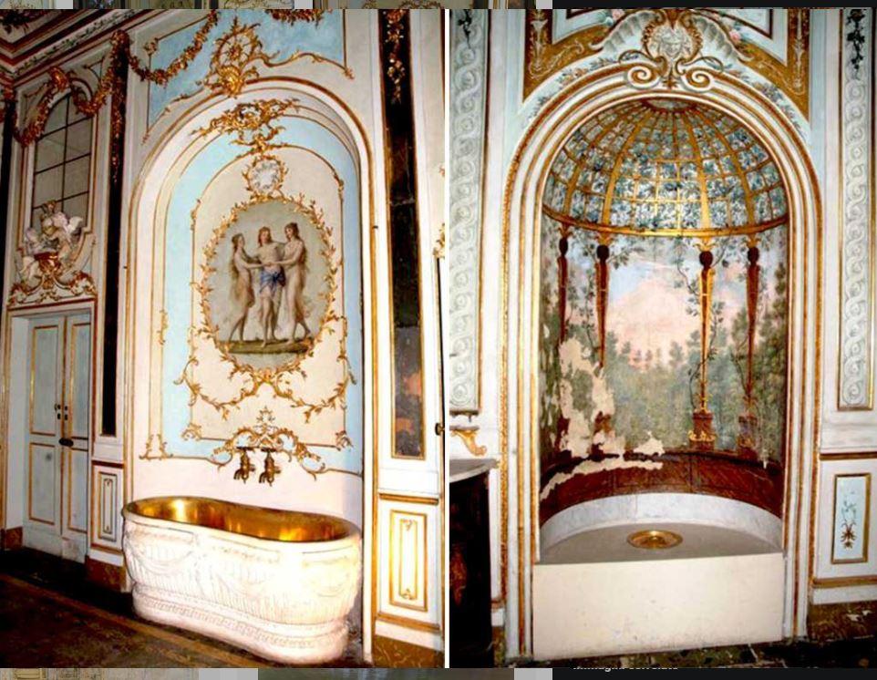 Storia della sala da bagno - Bagno della Reggia di Caserta
