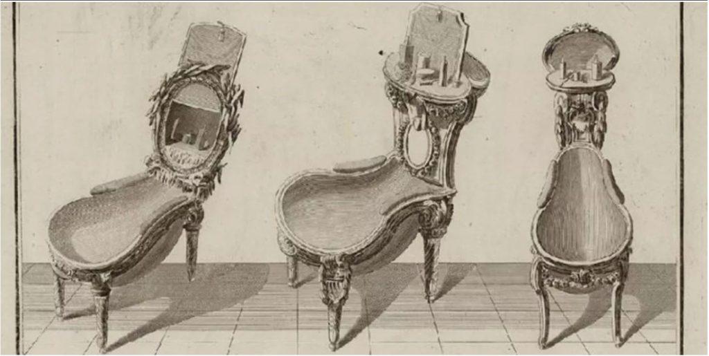 Storia della sala da bagno - Prototipi di dibet