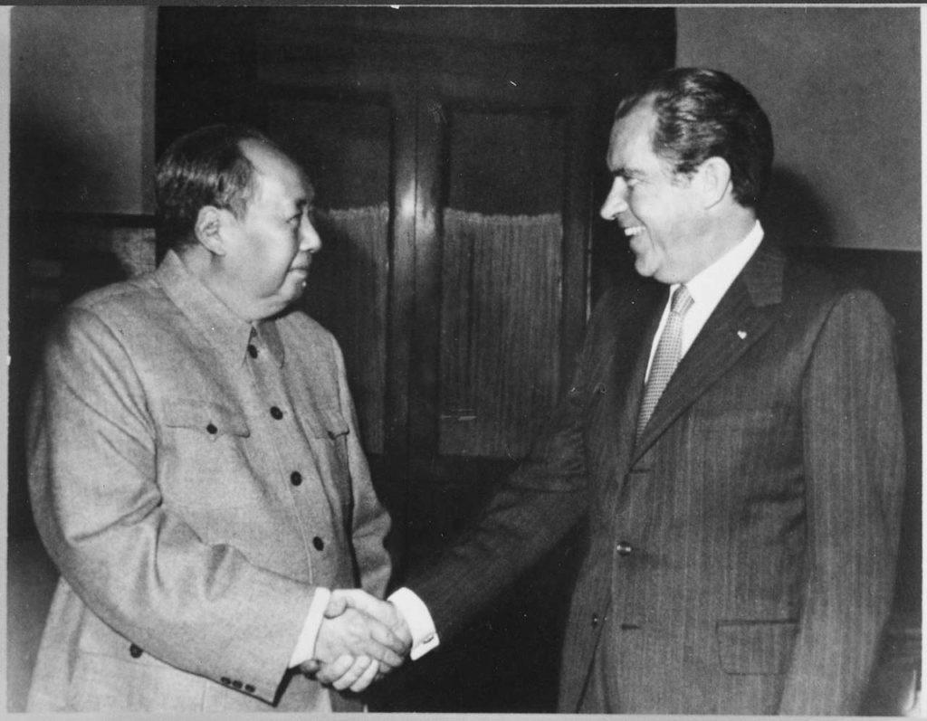Ping pong in Cina: incontro tra i presidenti di Usa e Cina