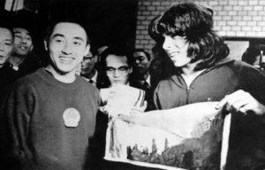 Ping pong in Cina: incontro tra Zhuang Zedong e Glenn Cowan