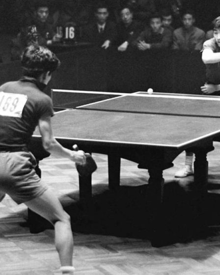Ping pong in Cina