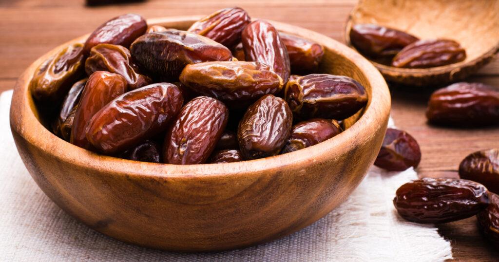 Datteri - Frutta per il diabete sconsigliata