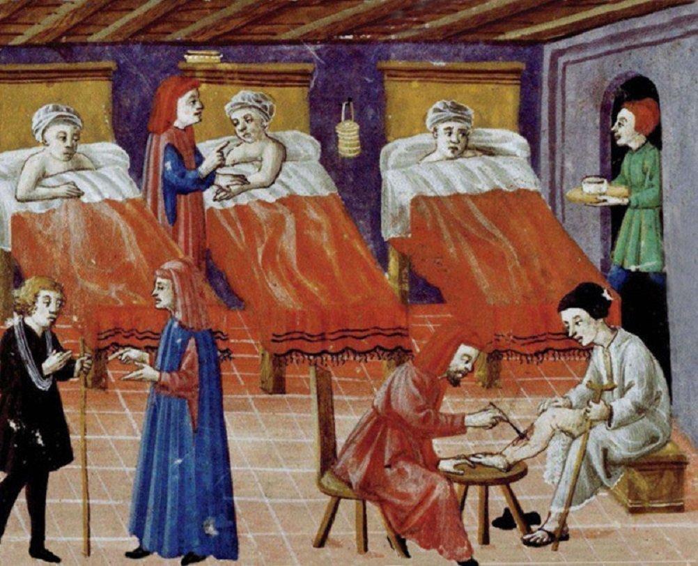 Medicina nell'Occidente medievale - Medicina monastica