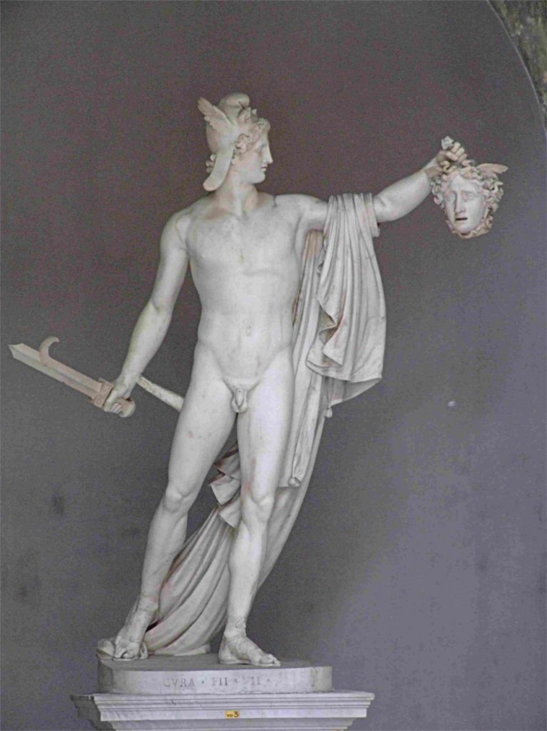 "ALT=""Perseo trionfante Canova Mito di Medusa"""