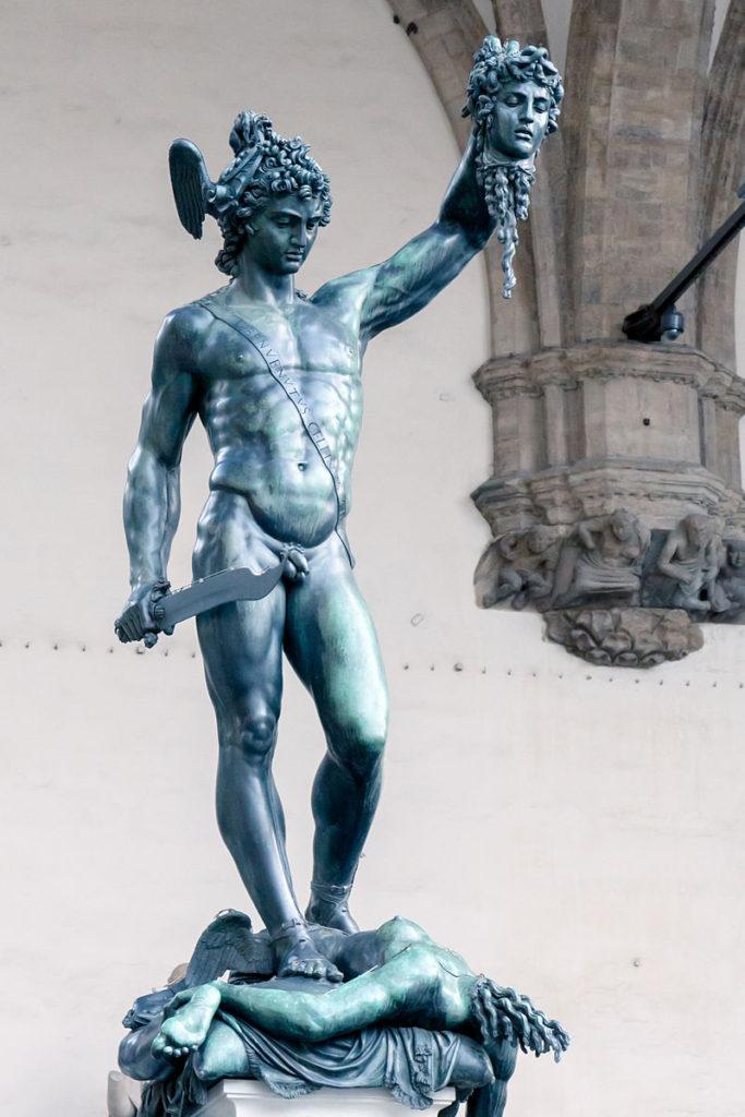 """ALT=""""Perseo Benvenuto Cellini"""""""