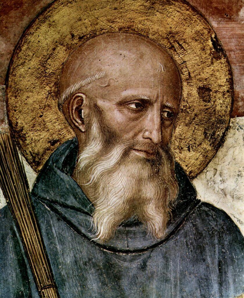 San Benedetto da Norcia - Medicina monastica