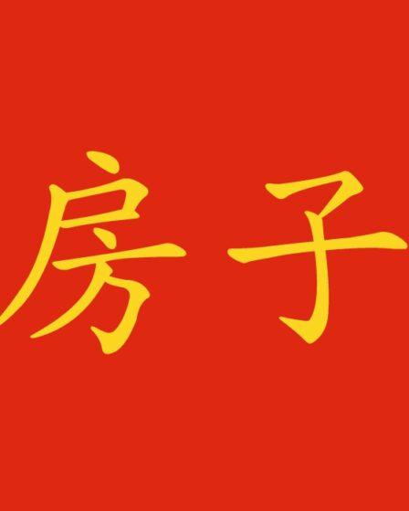 Nomi delle stanze della casa in cinese