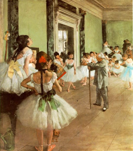 "ALT=""Edgar Degas ballerine"""