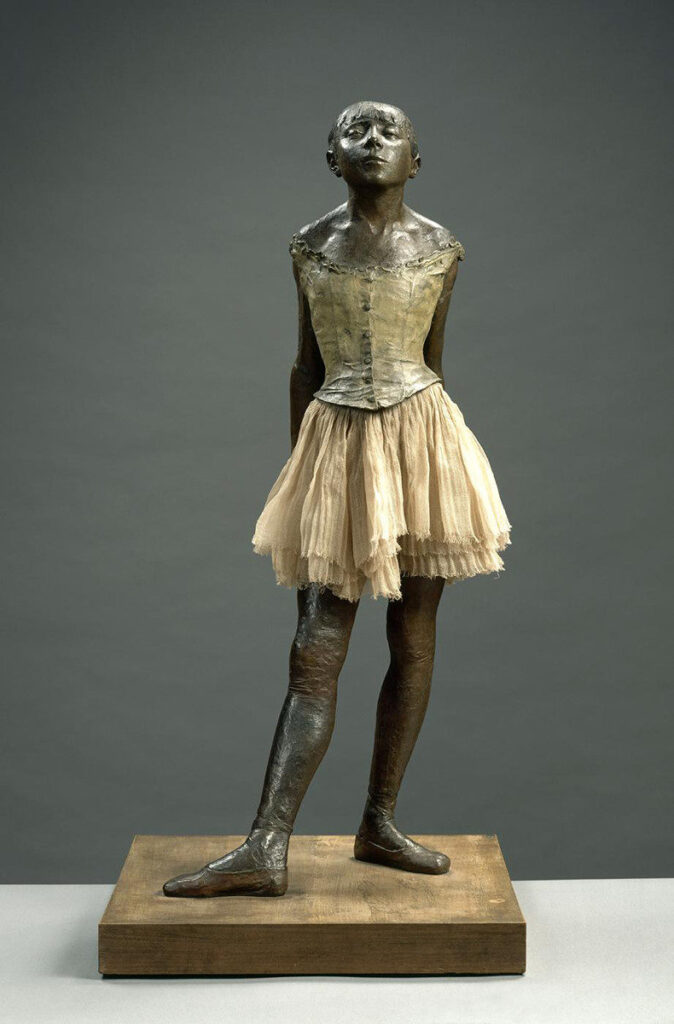 "ALT=""La piccola ballerina impressionismo"""