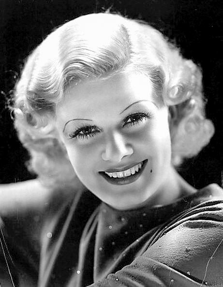 Bellezze Anni '30: l'attrice Jean Harlow.
