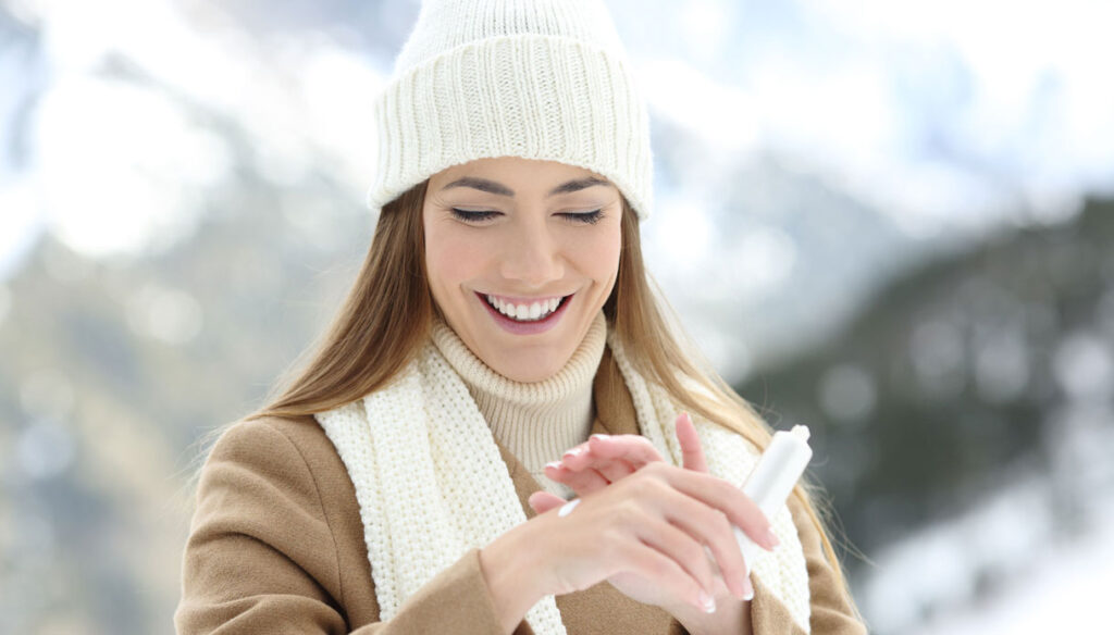 Curare la pelle in inverno - guida e consigli utili
