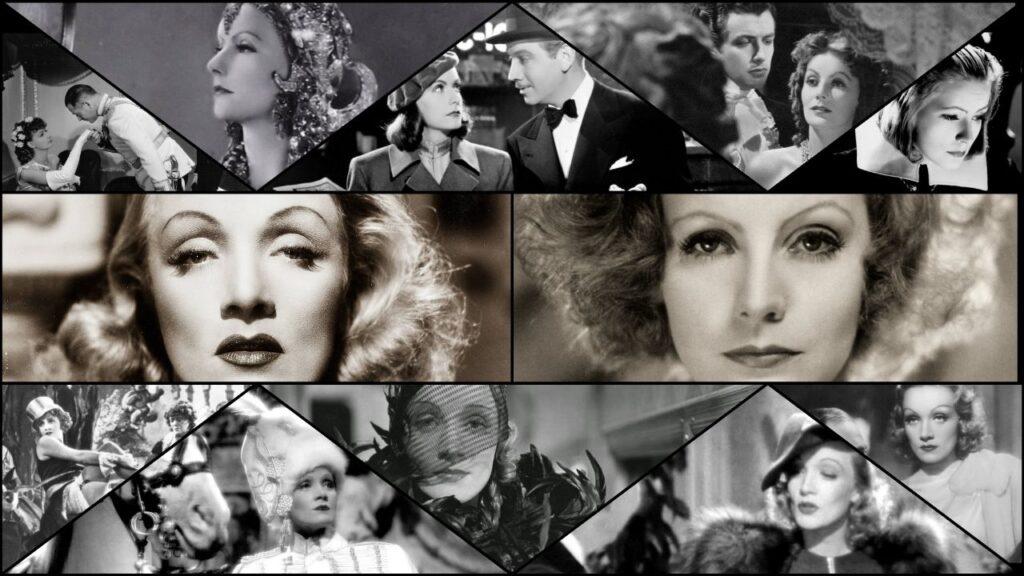 Anni '30 - Marlene Dietrich e Greta Garbo