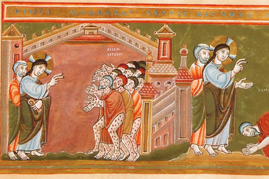 Lebbra e culto dei santi