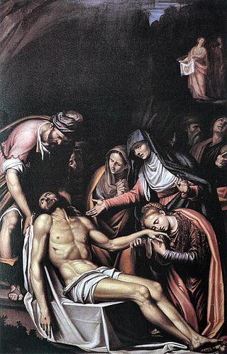 """""""Pietà"""", Peterzano, 1584-1588"""
