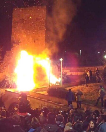 Rogo di Norfieddu, Carnevale iglesiente