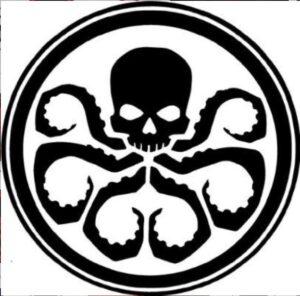SImbolo Hydra Marvel