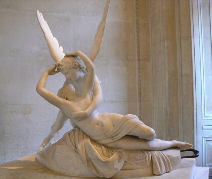 Amore e psiche - baci nell'arte