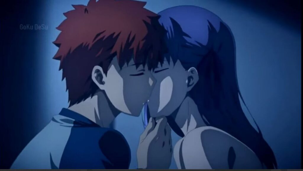 Fate stay Nitgh - bacio