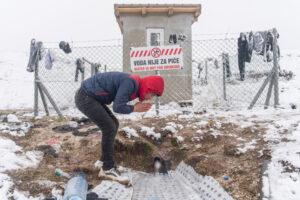Migranti Lipa acqua non potabile