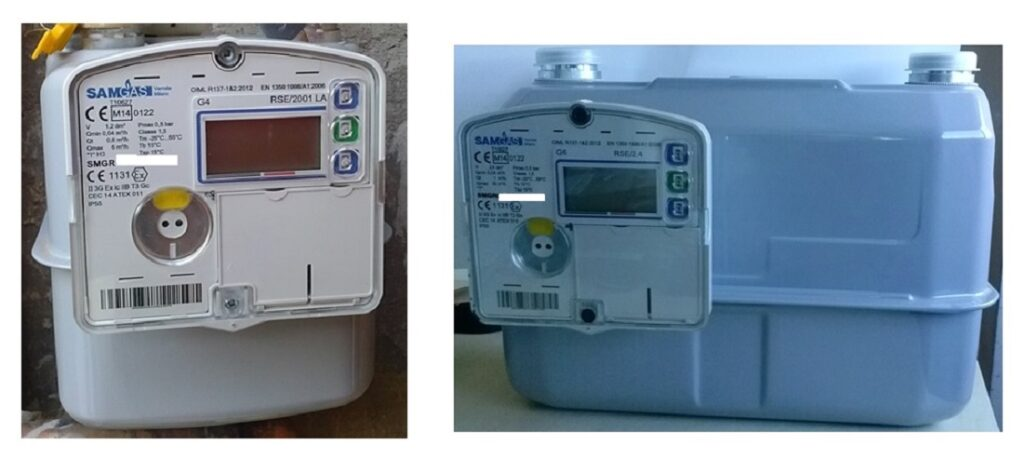 contatore gas digitale