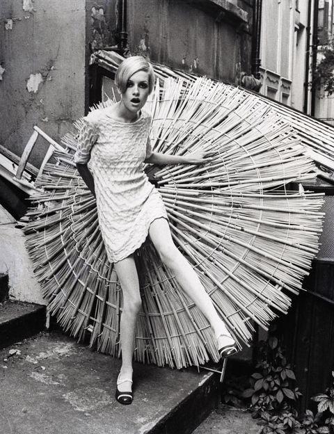 Twiggy, modella anni '60