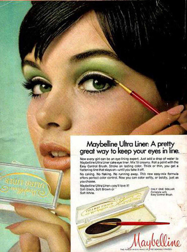 Trucco Anni '70 - Maybelline Ultra Liner