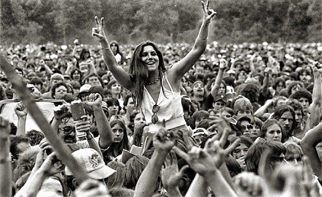 Il Festival della Libertà e dell'Uguaglianza, Woodstock, 1969.