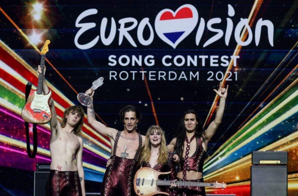 Maneskin vincono l'Eurovisionn