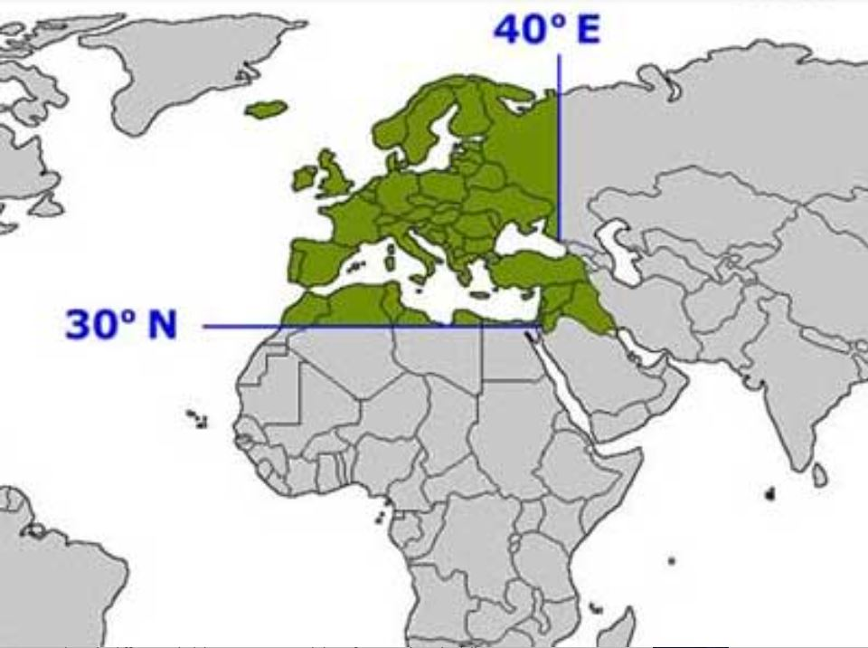 Mappa dell' Eurovision