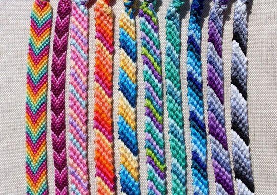 candy e chevron pattern